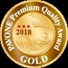 PAVONE Premium Quality Award